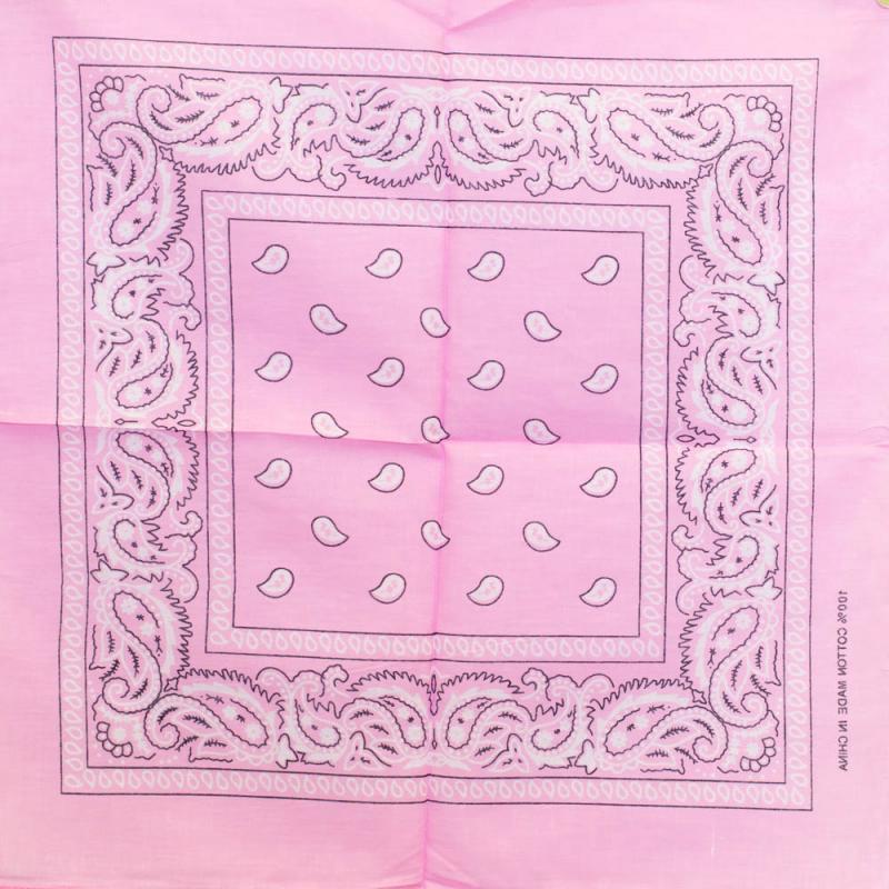Bandana Motiv floral - Candy Pink 0