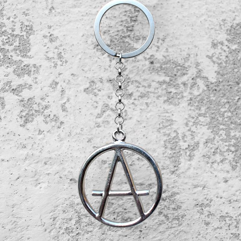 Breloc metalic chei - Anarchy 0