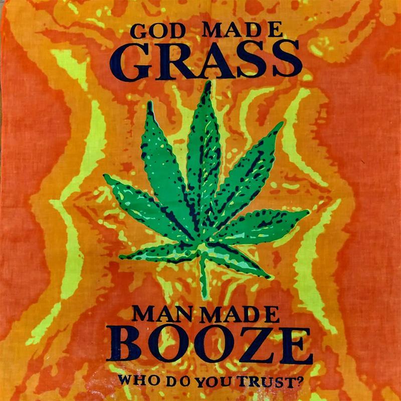 Bandana Grass VS Booze 0