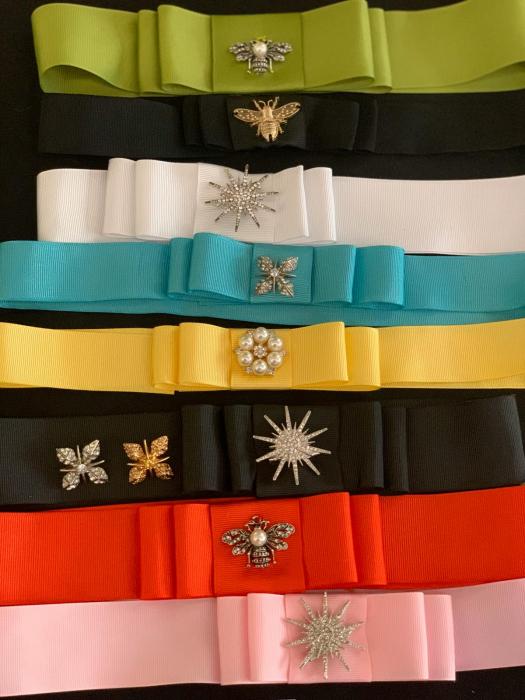 1 Bentita Extra + 1 brosa la alegere pentru Palarie - 15 culori [20]