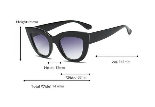 Ochelari de Soare Negri Mati 1