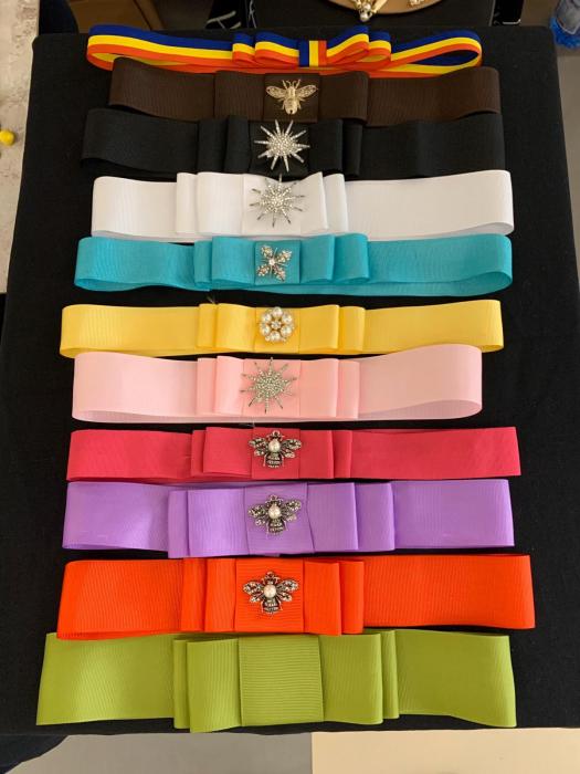 1 Bentita Extra + 1 Accesoriu la alegere pentru Palarie - 12 culori 0