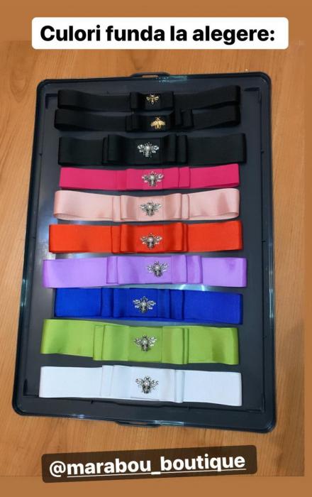 1 Bentita Extra + 1 Accesoriu la alegere pentru Palarie - 12 culori 1