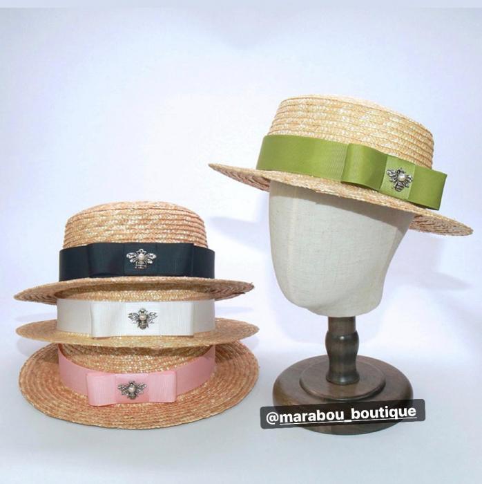 Canotiera Handmade din paie cu bentita detasabilasi accesoriu la alegere 10