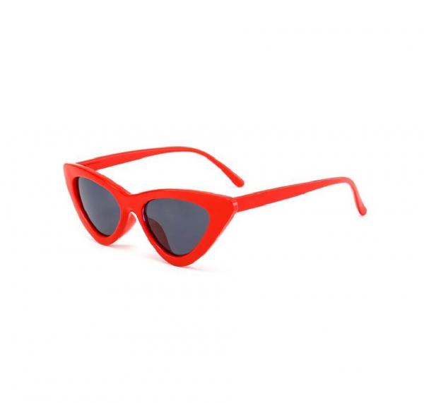 Ochelari de Soare Rosii Super Cat Eye 0