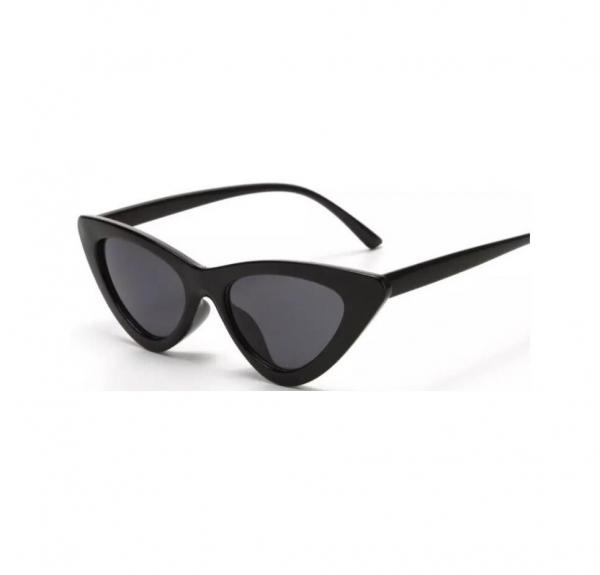 Ochelari de Soare Negri Super Cat Eye 0