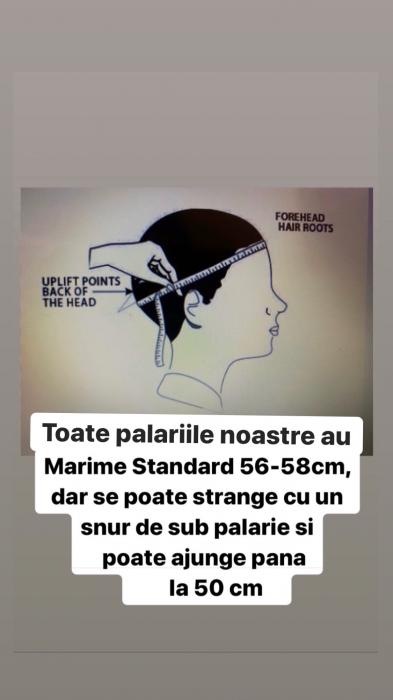"Palarie Blue Marine Handmade ""Christian Dior"" [8]"