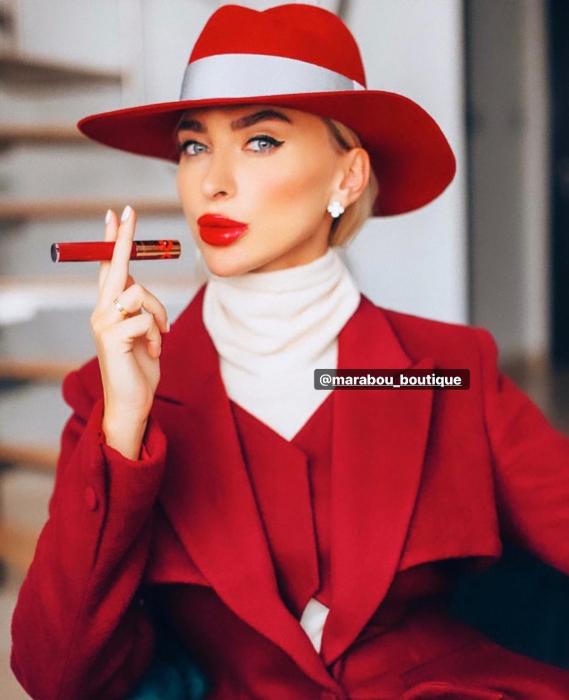 Palarie Rosie Handmade cu bentita detasabila si accesoriu la alegere 7