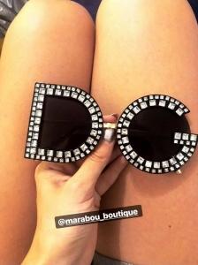 Ochelari de Soare cu Cristale DG21