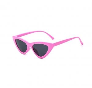 Ochelari de Soare Roz Super Cat Eye0