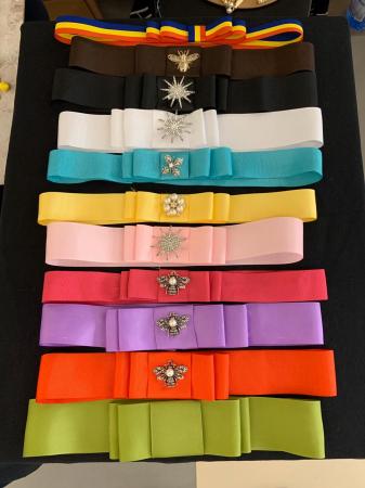 1 Bentita Extra + 1 Accesoriu la alegere pentru Palarie - 12 culori0