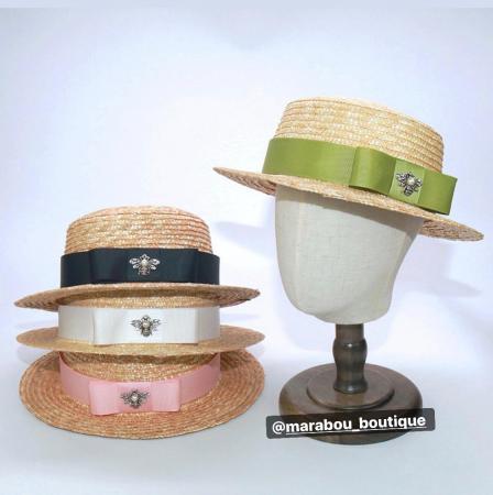 Canotiera Handmade din paie cu bentita detasabilasi accesoriu la alegere10