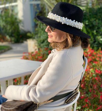 Bentita cu Perle Luxury de purtat pe cap sau pe o palarie4