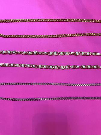 Canotiera Neagra Handmade cu bentita detasabila si Lant auriu sau argintiu [4]