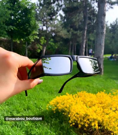 Ochelari de Soare Punk Argintii - Negri8