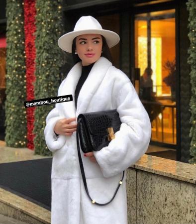Palarie Alba Handmade cu bentita detasabila si brosa la alegere [44]