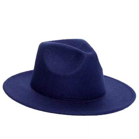 "Palarie Blue Marine Handmade ""Christian Dior"" [7]"