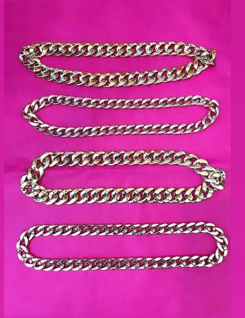 Palarie Neagra Handmade cu Lant Auriu detasabil [2]