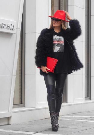 Palarie Rosie Handmade cu bentita detasabila si accesoriu la alegere9
