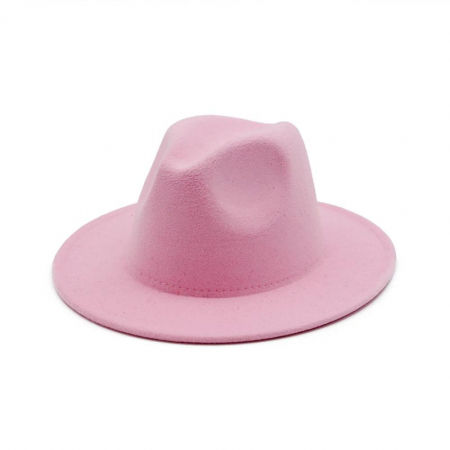 Palarie Roz Handmade cu bentita detasabila cu perle18