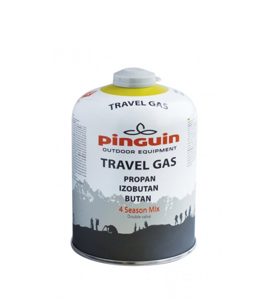 Butelie Pinguin Travel Gas 450 0