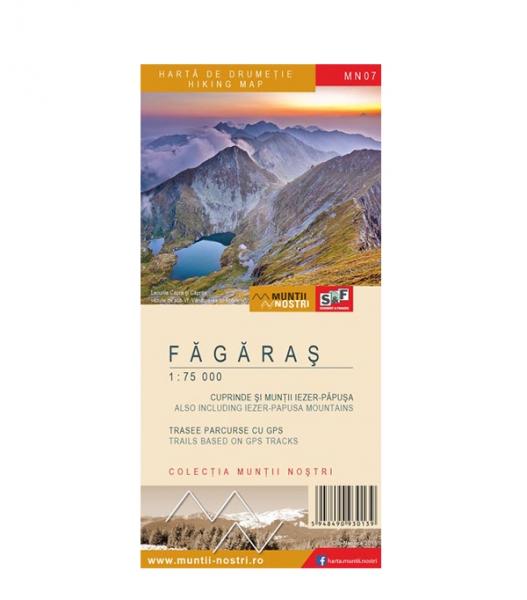 Harta Muntii Nostri Fagaras