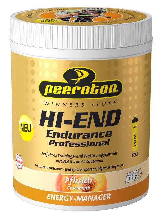 HI-END Endurance Professional Drink 600g piersici CRISTOPH STRASSER [0]