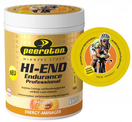 HI-END Endurance Professional Drink 600g piersici CRISTOPH STRASSER [1]