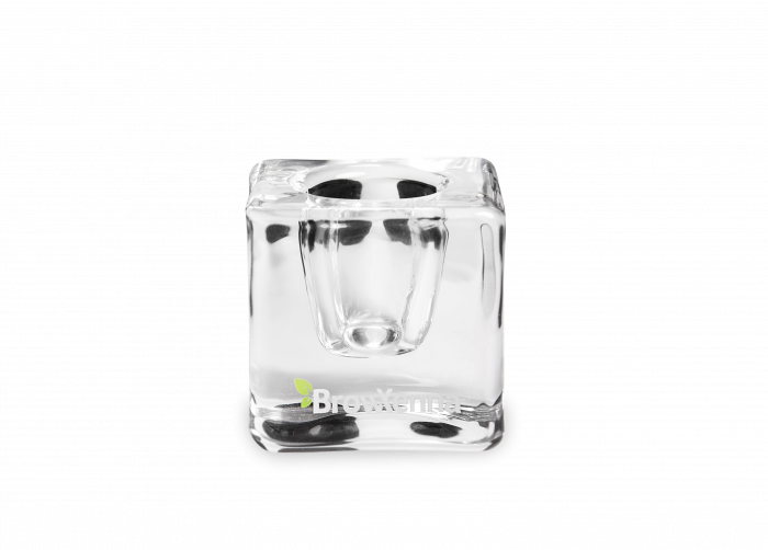 Pahar sticla pentru mix henna & vopsea BrowXenna 0