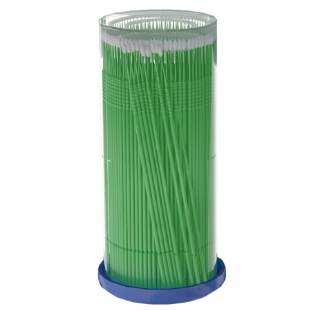 Micro perii - green microbrushes 1mm (S) 100buc [0]