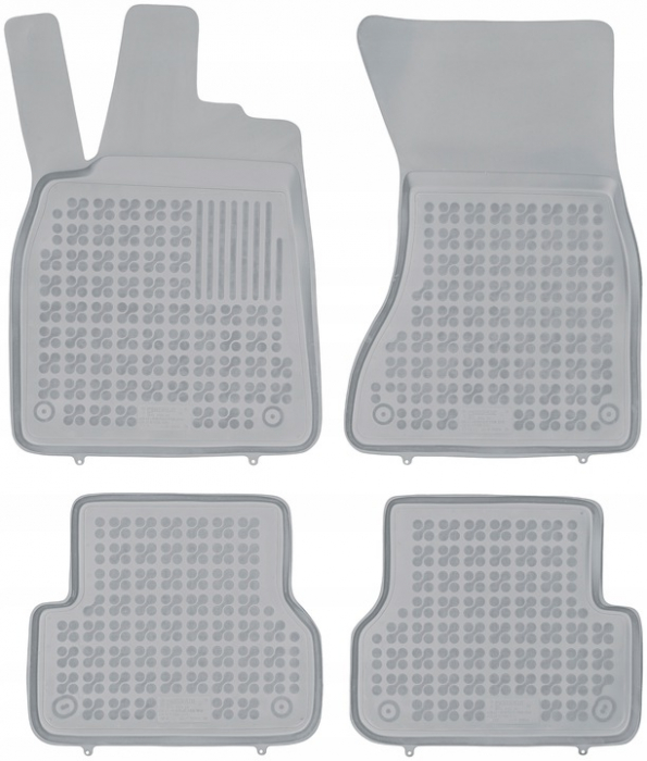 Covorase cauciuc gri tip tavita Audi A7 Sportback (2011-2018) [0]