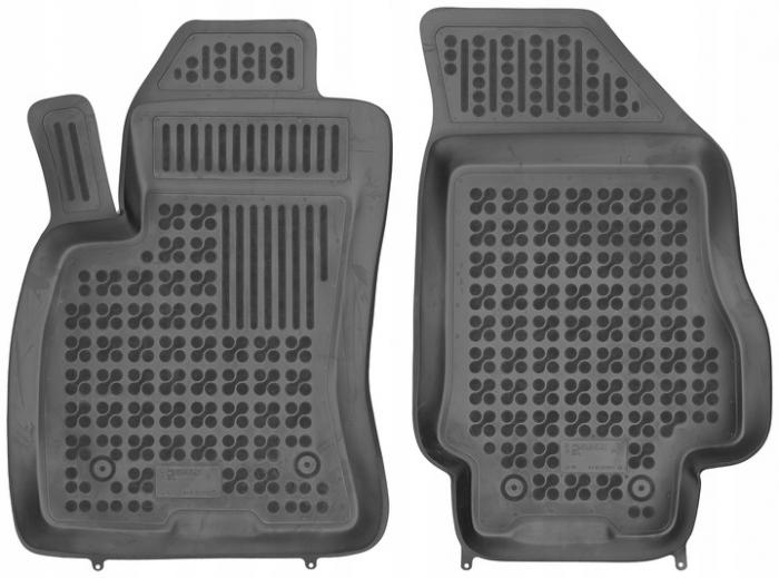 Covorase cauciuc tip tavita Fiat Doblo II (2010- ) - 2 locuri [0]