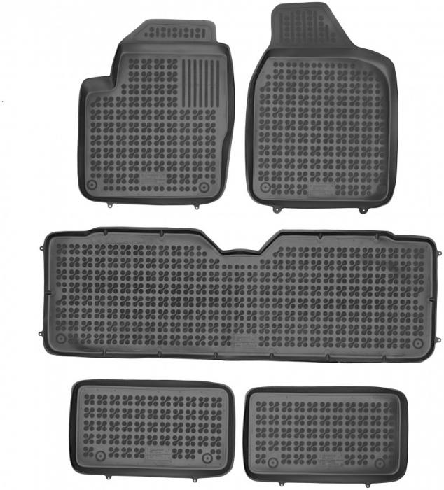 Covorase cauciuc tip tavita VW Sharan 1/1A/1B tip 7M (1995-2010) 7 loc [0]