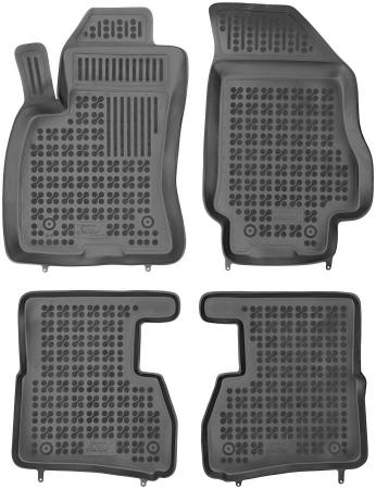 Covorase cauciuc tip tavita Fiat Doblo II (2010- ) 5/7 locuri [0]