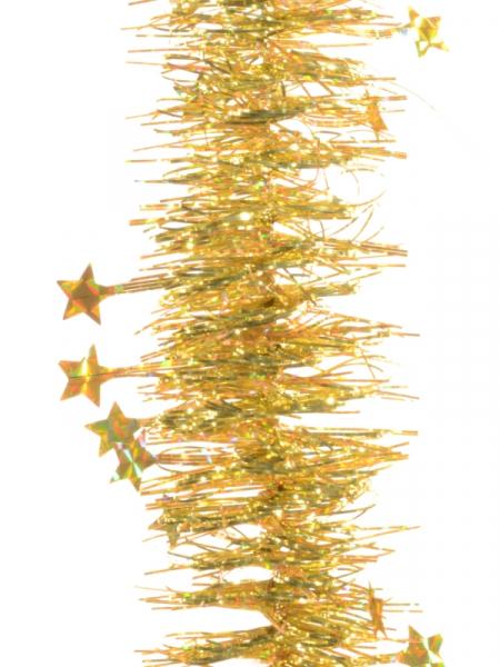 Beteala spirala cu stele 100mm aurie 0