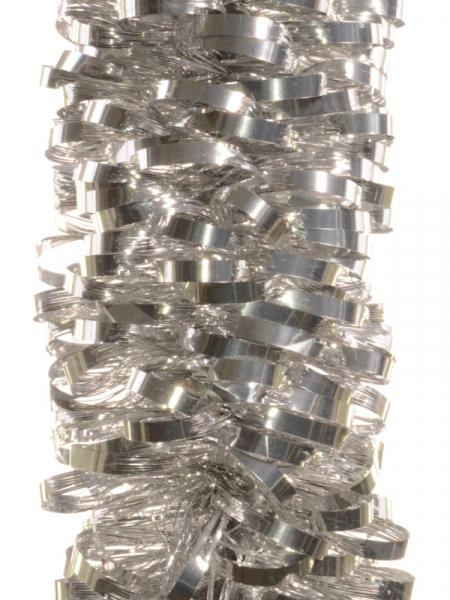 Ghirlanda spirala 80mm argintie 0