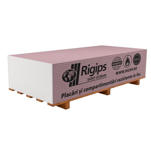 Placa gips-carton Rigips antifoc muchie PRO 12.5mm 1.2x2.6 m [0]