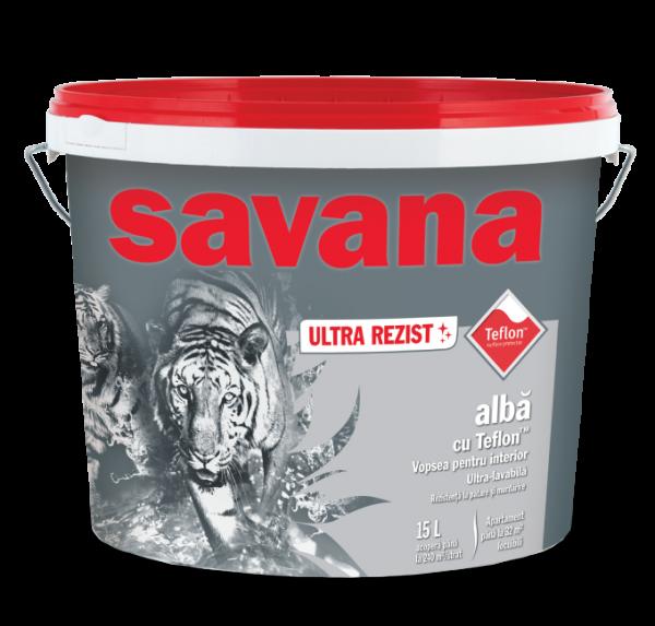 Vopsea Savana ultra lavabila, pentru interior, ultra rezist cu teflon 15L 0