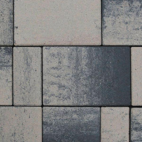Pavaj Rettango combi 6cm gri bazalt 0