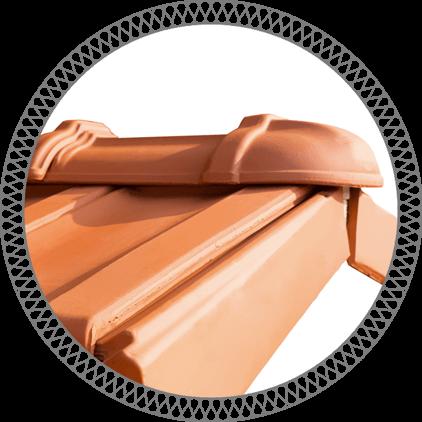 Tigla ceramica Mladost pentru capat de coama 1