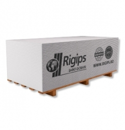 Rigips® RB - placa gips-carton tip A, standard, muchie PRO9.5x1200x2500 mm [0]