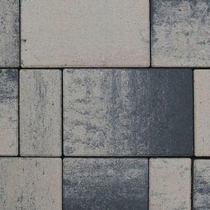 Pavaj Rettango combi 6cm gri bazalt0