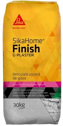 Tencuiala de ipsos SikaHome Finish G-Plaster, Sika, 30 kg 0