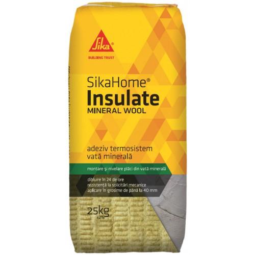 Adeziv pentru termosistem SikaHome Insulate Mineral Wool, Sika, 25kg 0