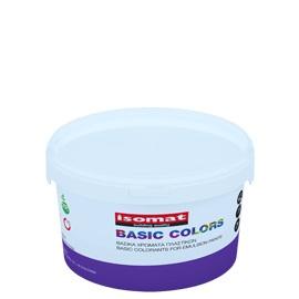Colorant de baza pentru colorarea vopselelor albe plastice şi acrilice, Isomat Basic, 375ML, albastru 0