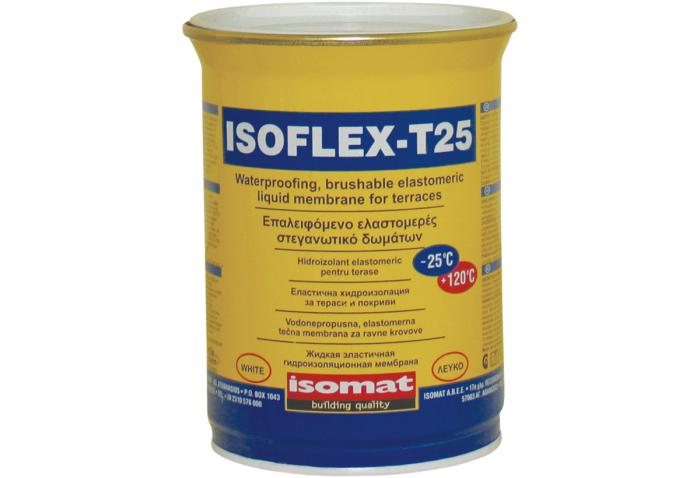 Membrana hidroizolanta lichida elastomerica pentru terase, Isomat, Isoflex-T25 , 25kg 0