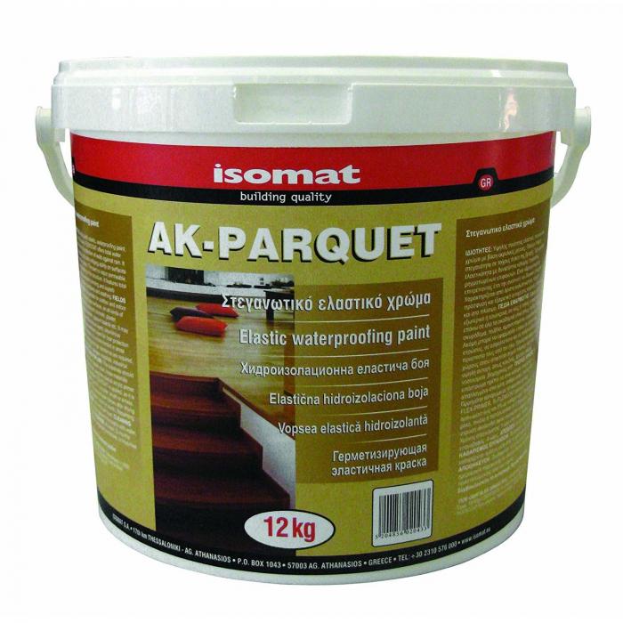Adeziv poliuretanic pentru pardoseli din lemn AK-PARQUET, Isomat, 12 kg 0