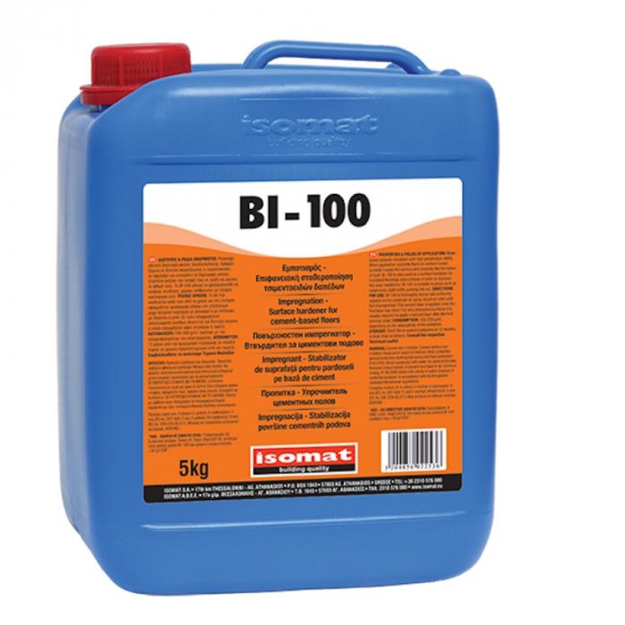 Impregnant si intaritor de suprafata pentru beton bi-100, Isomat, 5 kg 0