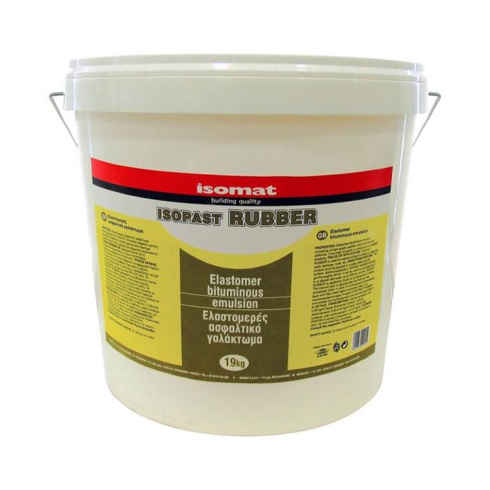 Emulsie bituminoasă elastomerica, ISOPAST-RUBBER, Isomat, 19 kg 0