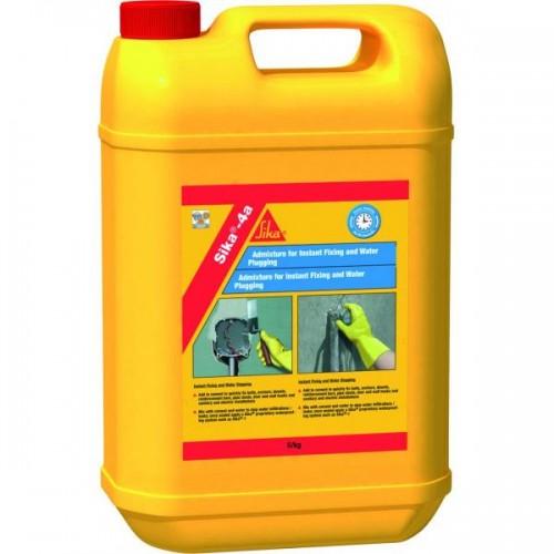 Aditiv lichid pentru impermeabilizare Sika-4a, Sika, 5 kg 0